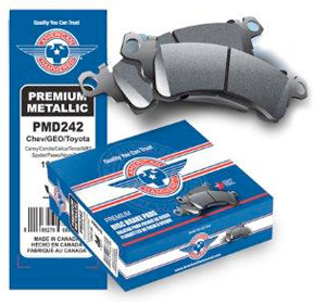 American Hammered Brake Pads