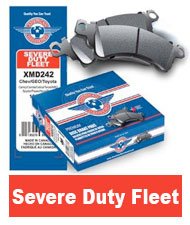 American Hammered Severe Duty Brake Pads